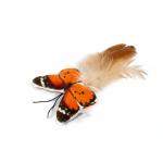Бабочка с пером