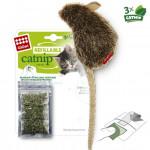 Мышка с кошачьей мятой