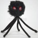 Дразнилка-паук плюшевый