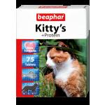 Beaphar Kitty's + Protein 75 шт