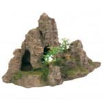 """Грот """"Скалы с пещерой с растениями"""""""