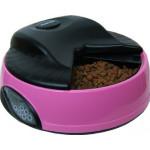FEEDEX  Автокормушка на 4 кормления, розовая