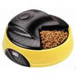 FEEDEX Автокормушка на 4 кормления, желтая