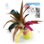 Мячик с перьями