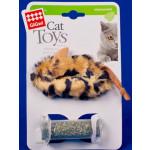 Мышь с контейнером кошачьей мяты