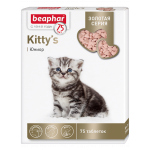 Beaphar Золотая серия Kitty's junior 75 шт