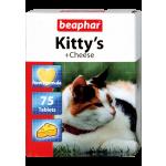 Beaphar Kitty's + Cheese 75 шт