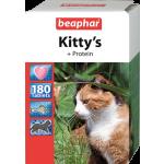 Beaphar Kitty's + Protein 180 шт