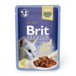 BRIT Premium Cat Pauch Beef fillets JELLY
