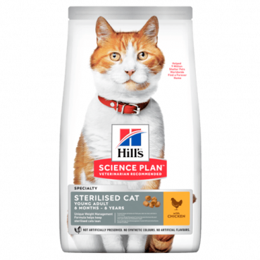 Hill's Science Plan™ Sterilised Cat Young Adult Chicken