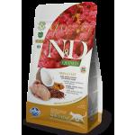 Farmina N&D Cat GF Quinoa Skin&coat Quail