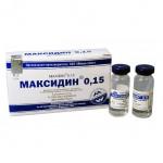 МАКСИДИН 0,15 капли глазные и интраназальные для собак и кошек