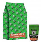 ZooRing Adult Active Dog Salmon/Rice