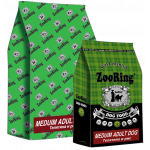 ZOORING MEDIUM ADULT DOG VEAL/RICE